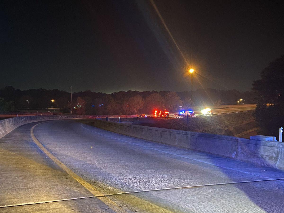 SCDOT: Crews work to clear crash at I-526, I-26 interchange