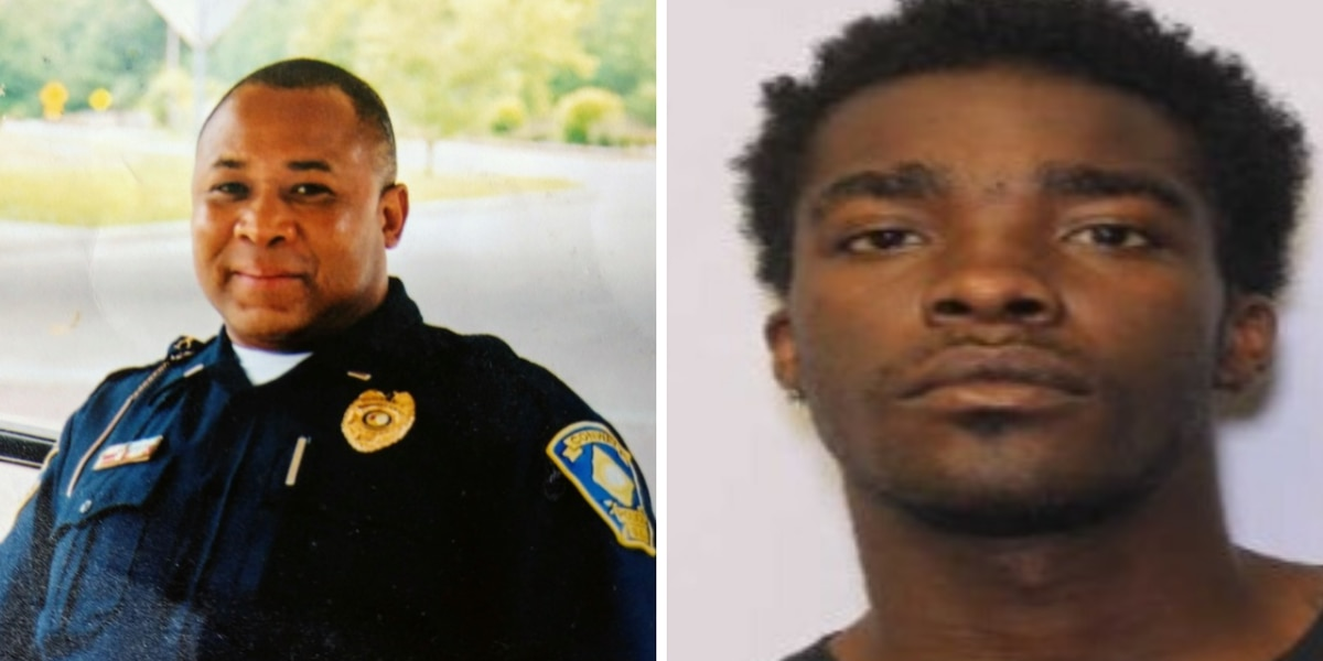 'A good person': Family mourns as police hunt for man accused of killing retired Conway police officer
