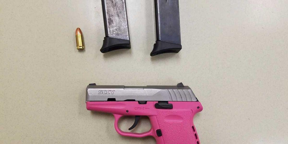 Police seize gun following North Charleston traffic stop