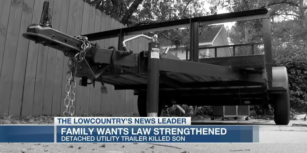 Family wants law strengthened after son killed by runaway utility trailer
