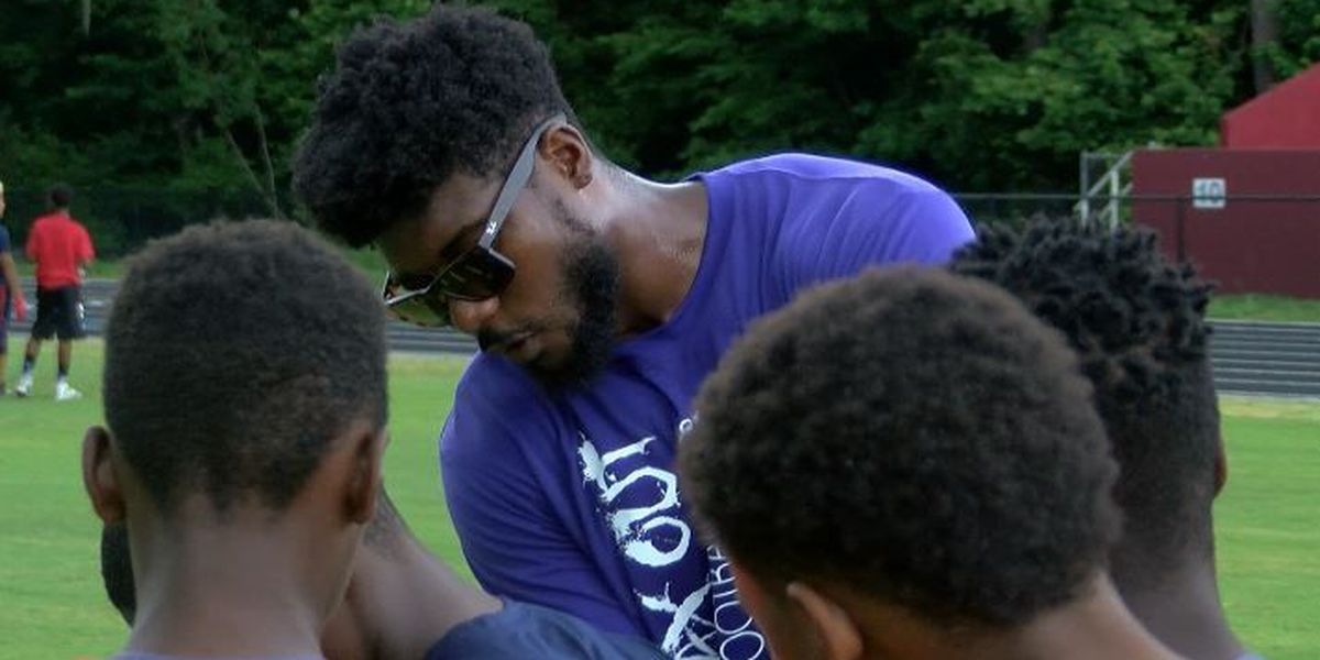 Byron and the boys: Maxwell holds annual camp at Baptist Hill