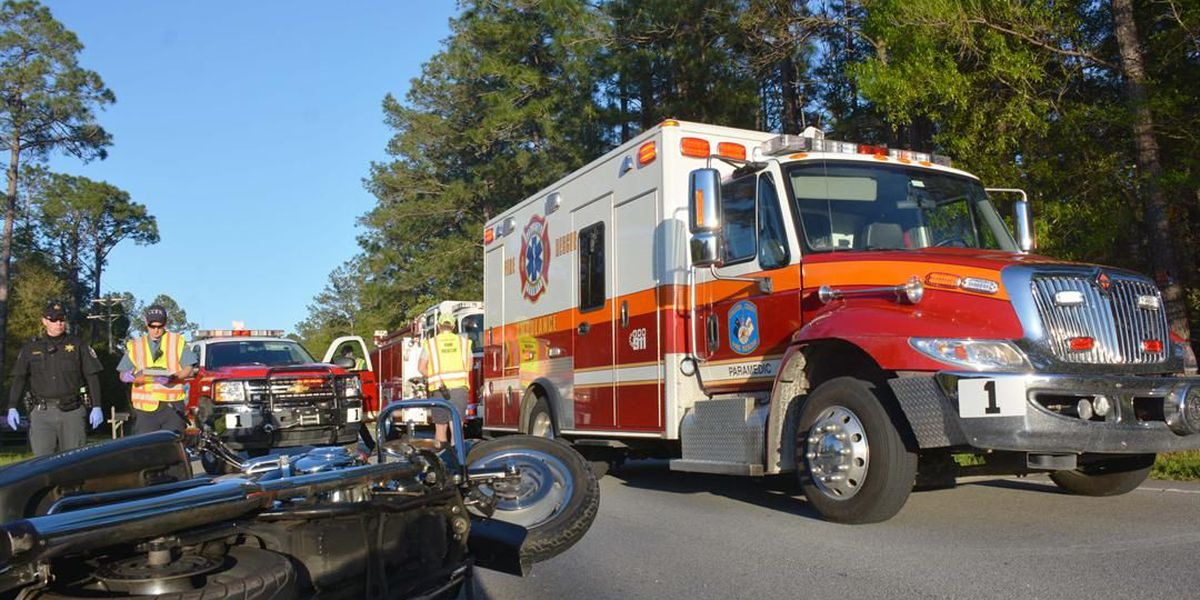 Motorcyclist dies in Colleton County crash
