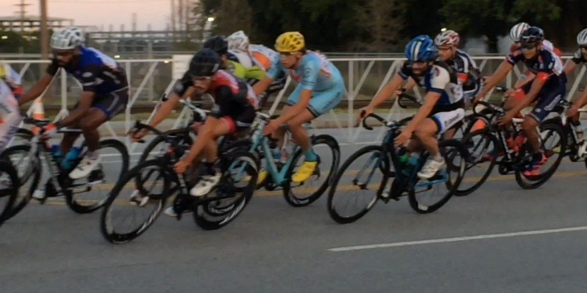 Cyclists race the streets at annual Park Circle criterium