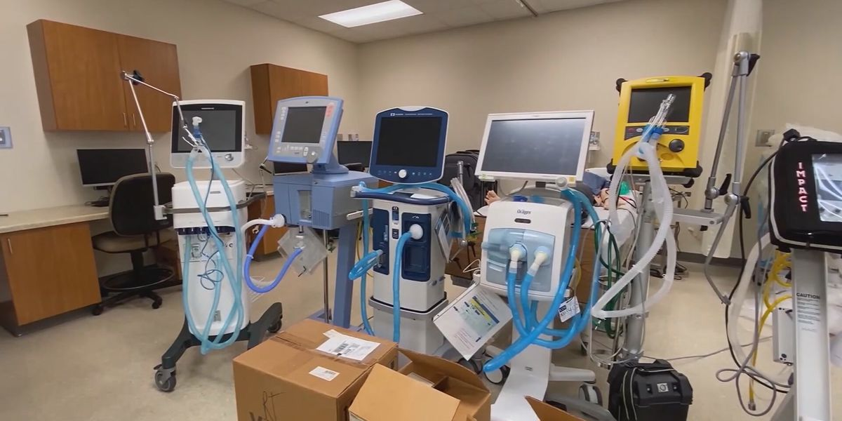 Number of S.C. COVID-19 patients on ventilators up 35 percent since last week