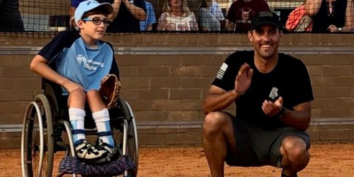 RCSD deputies and teachers face off in softball fundraiser for special needs athletics program