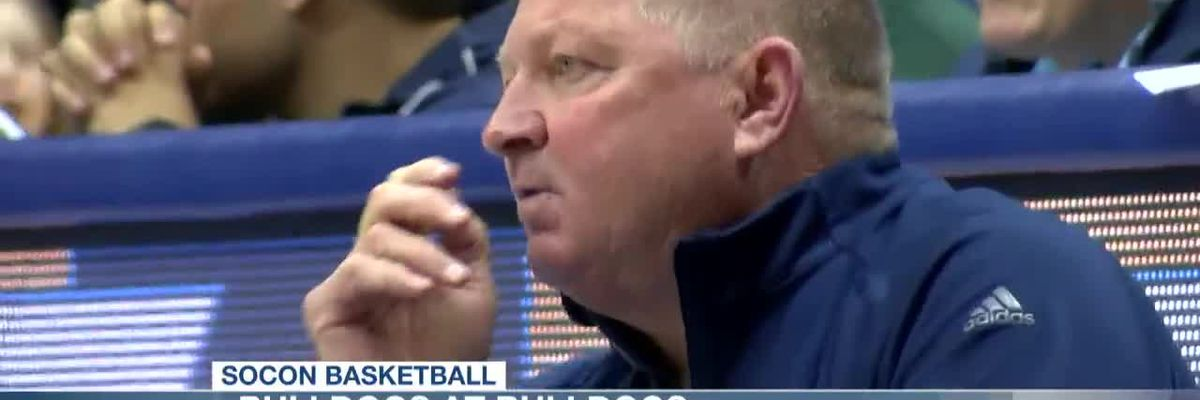 VIDEO: Harris Records Double-Double in The Citadel's Loss to Samford