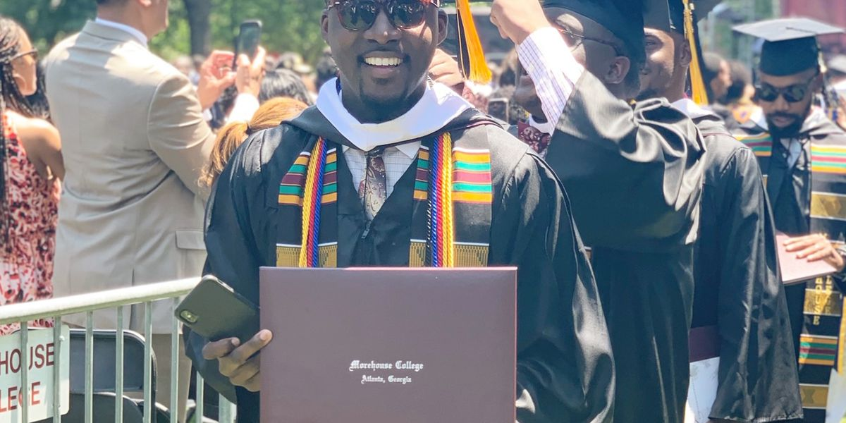 'Am I dreaming or is it true?': SC 'Morehouse man' graduates with no student debt after extraordinary gift