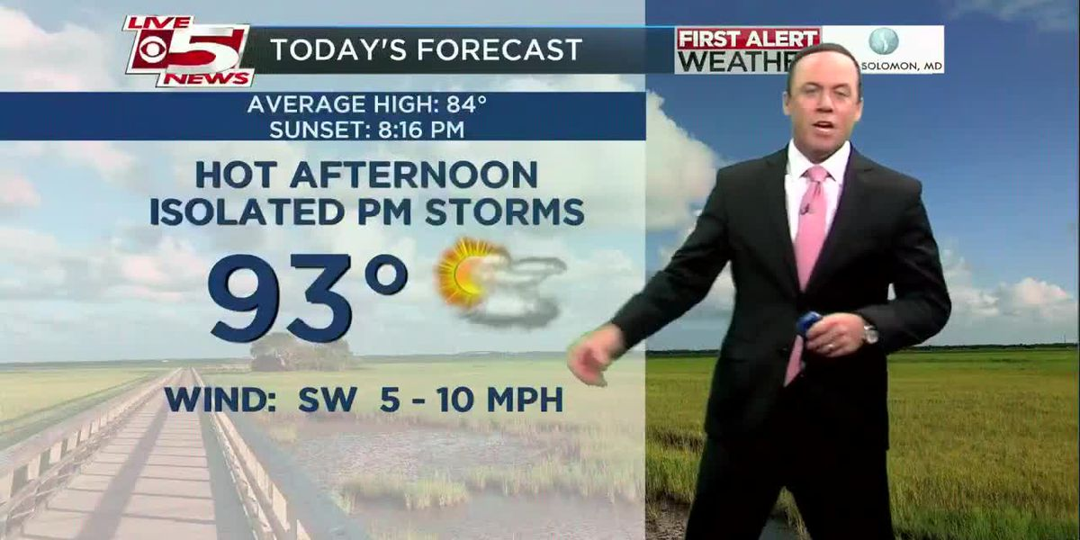 VIDEO: Your Tuesday morning forecast