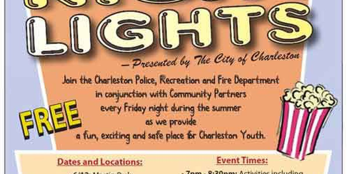 Charleston police Friday Night Lights schedule of events