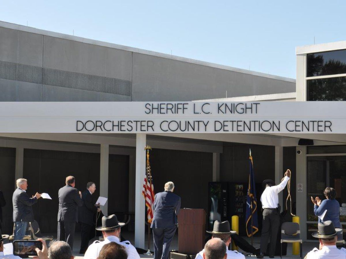 Dorchester Co. names detention center in honor of Sheriff L C Knight