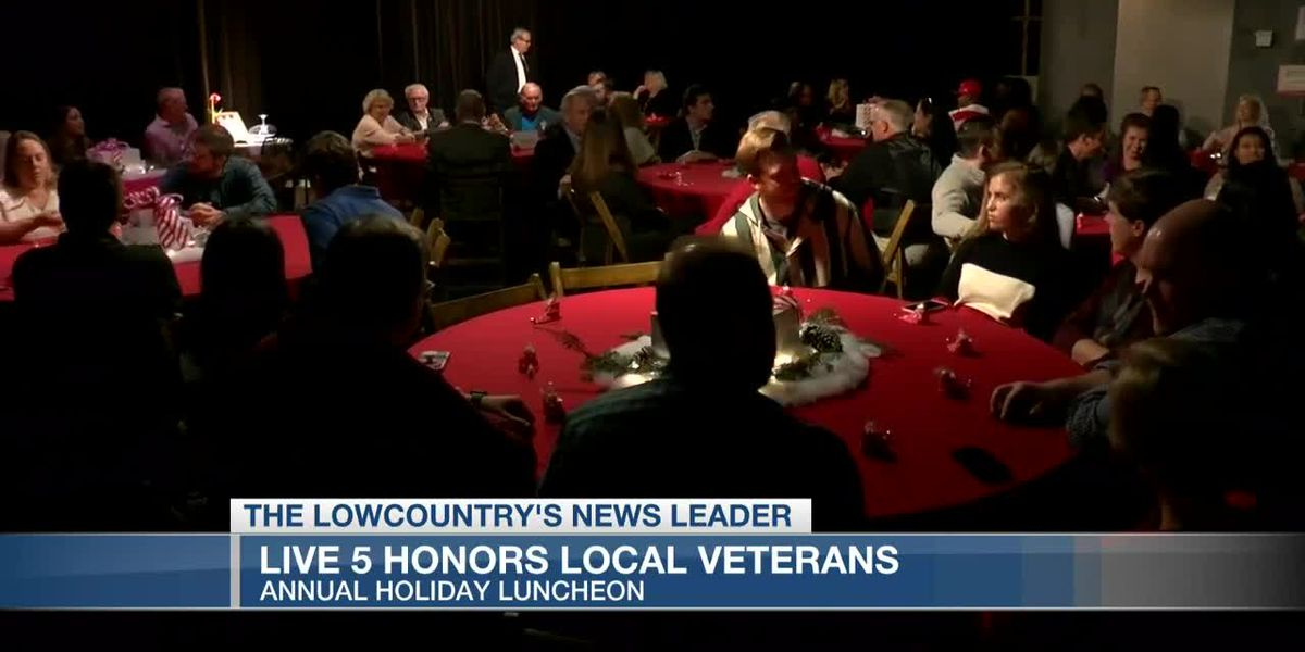Live 5 News honors local veterans during holiday luncheon
