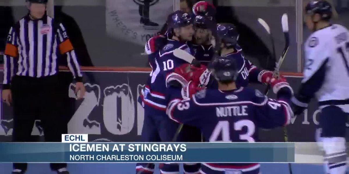 VIDEO: Stingrays Take Over ECHL Points Lead With 4-1 Win