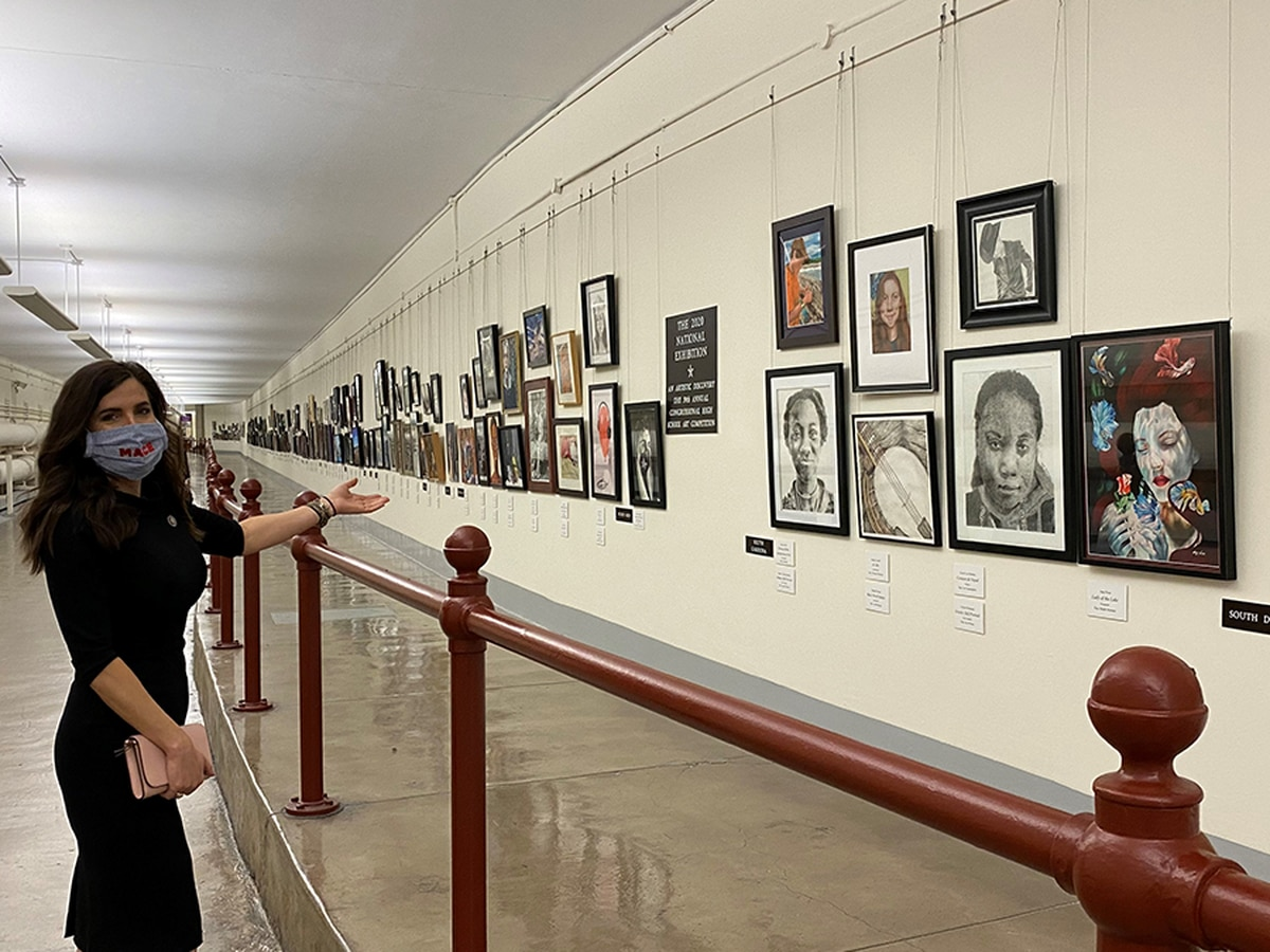 Lowcountry students can submit artwork to hang in the US Capitol