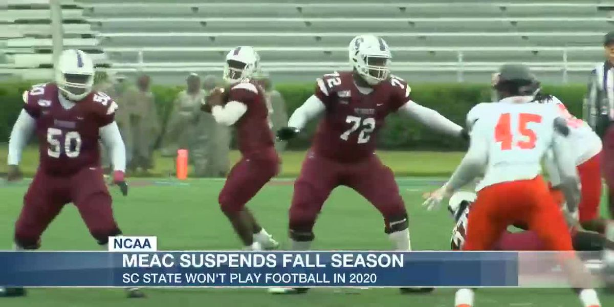 VIDEO: SC State won't play football in 2020