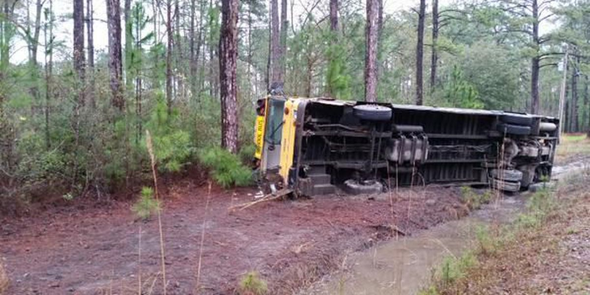 School bus driver charged after 31 students injured in crash