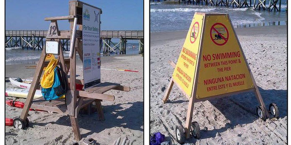 300 pound lifeguard stand missing from Isle of Palms