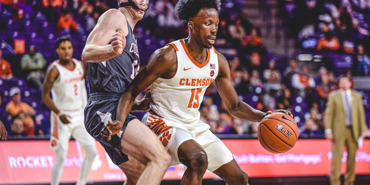 Mack leads Clemson to 81-68 win over Colgate