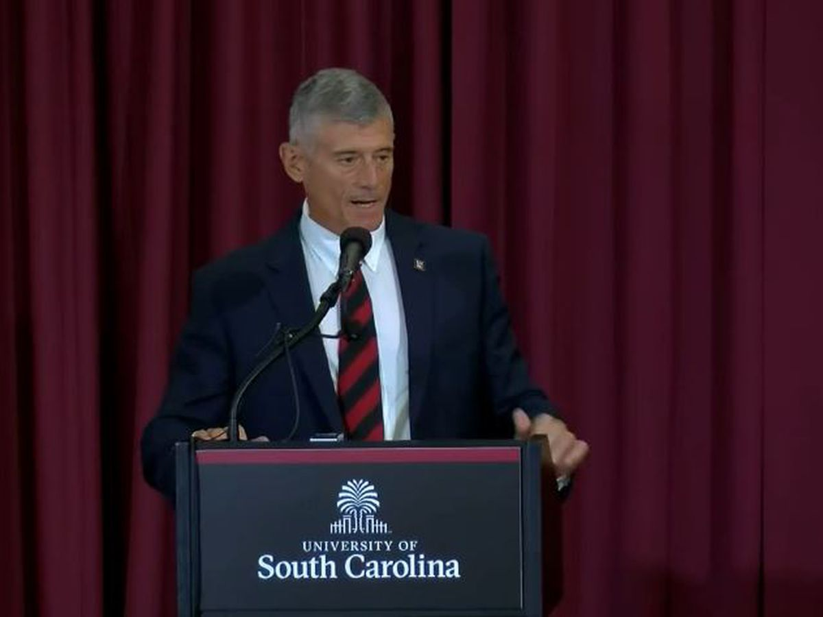 UofSC President-elect sets priorities, promises to listen to students, faculty
