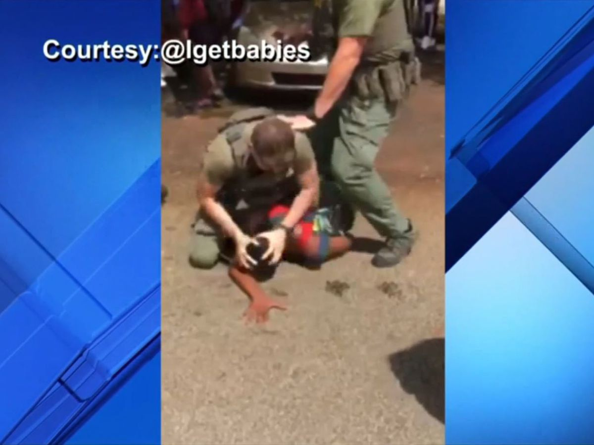 GRAPHIC: Florida deputies were videoed pepper-spraying and punching teen; Sheriff's office investigating
