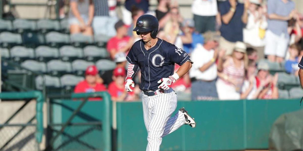 RiverDogs Rip Two Homers, Fall in Independence Day Opener
