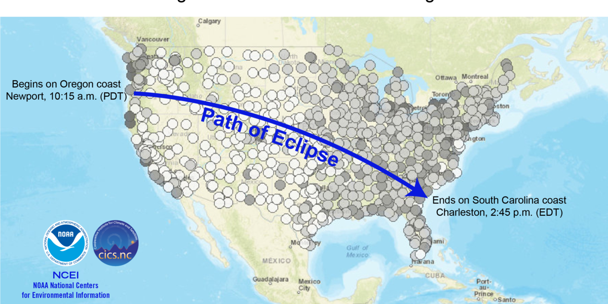 Another SC city may be a better place to view the eclipse