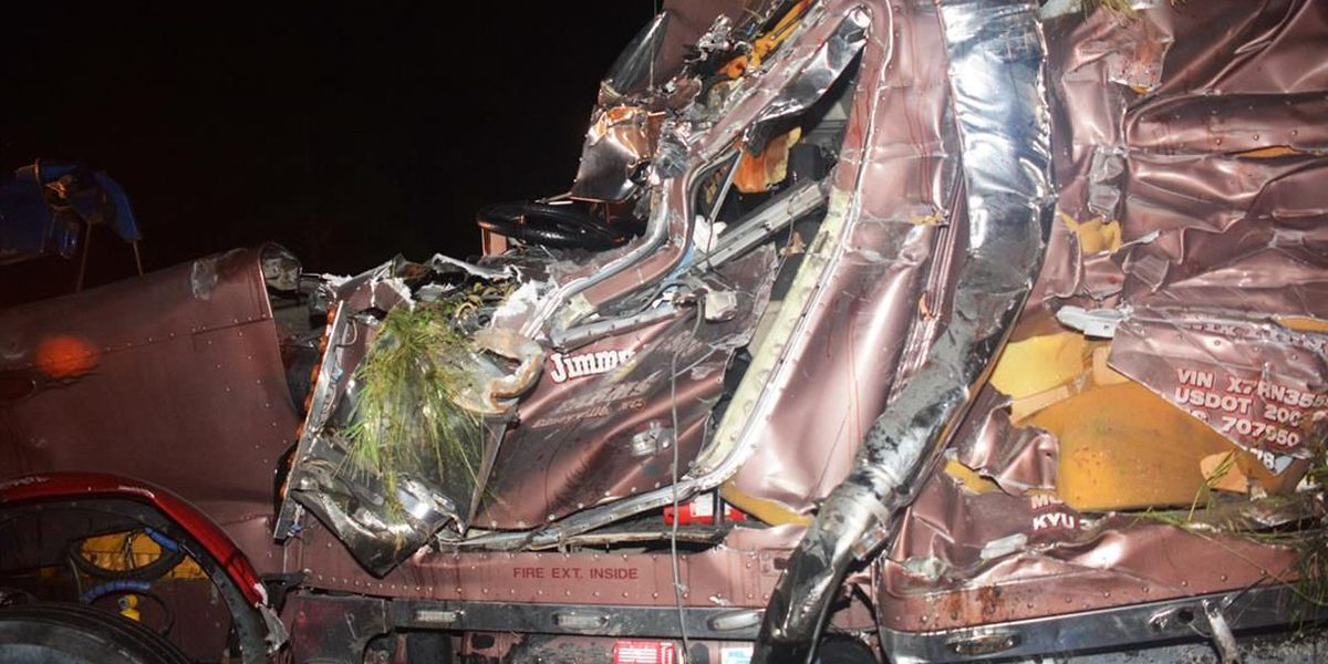 Man killed after tractor trailer over-turned on I-95