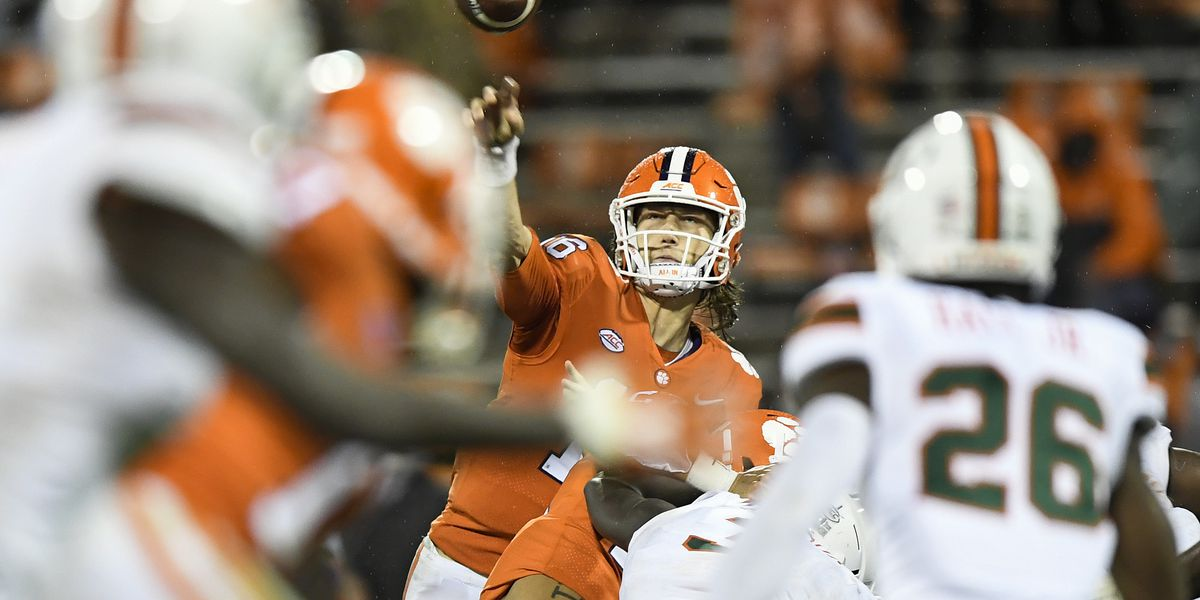 Lawrence Earns Second ACC Quarterback of the Week Honor of 2020