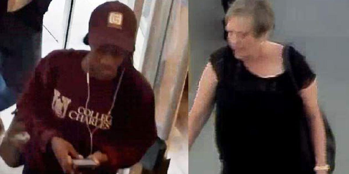 Charleston police release surveillance stills in credit card thefts