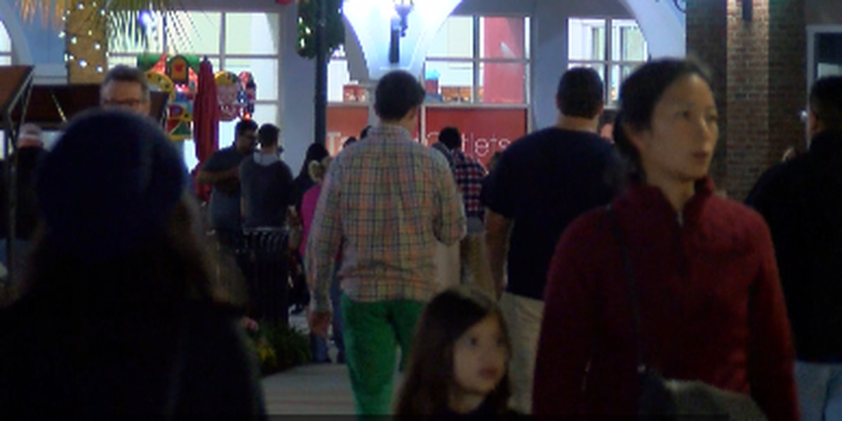 Crowds of shoppers take advantage of early Black Friday deals