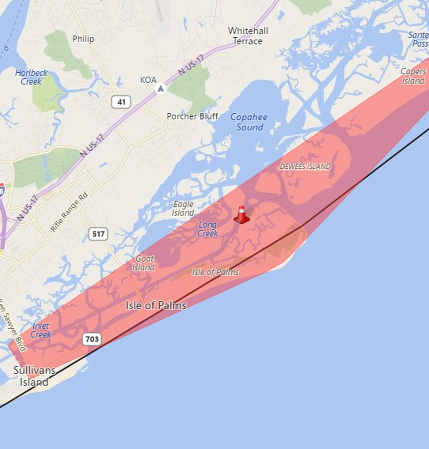 Sce&G Power Outage Map SCE&G: Equipment issue caused early morning power outage on IOP