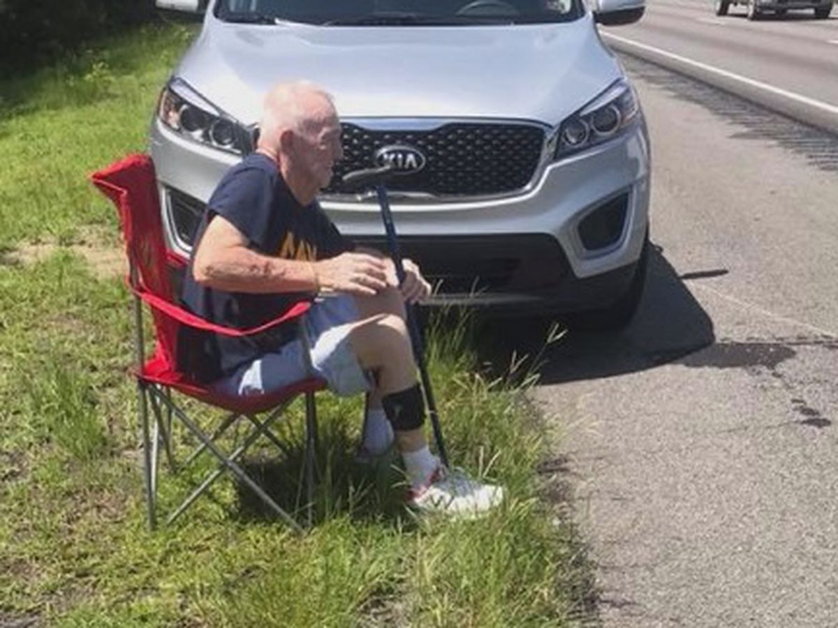 Good Samaritan helps veteran stranded on I-95 in Chatham County