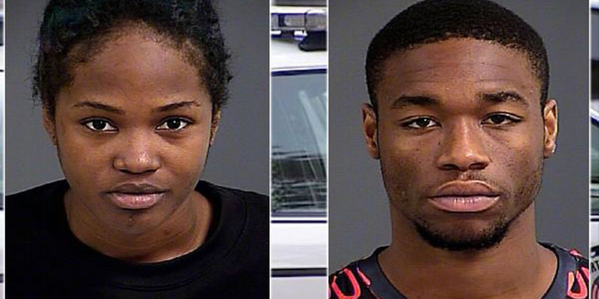 2 charged in N. Charleston hotel strong armed robbery