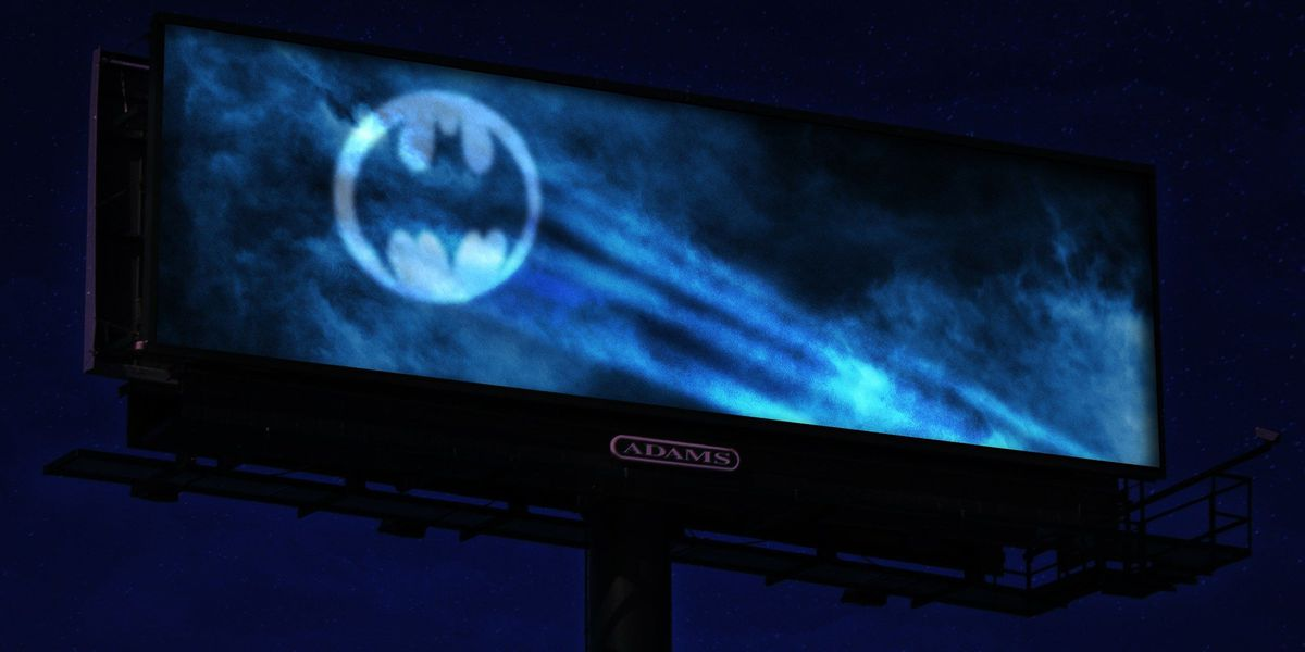 Lowcountry business creates 'Bat Signal' to honor Adam West