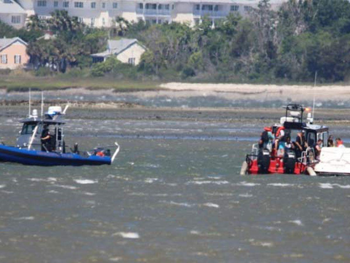 Coast Guard responds to boat fire in Charleston Harbor