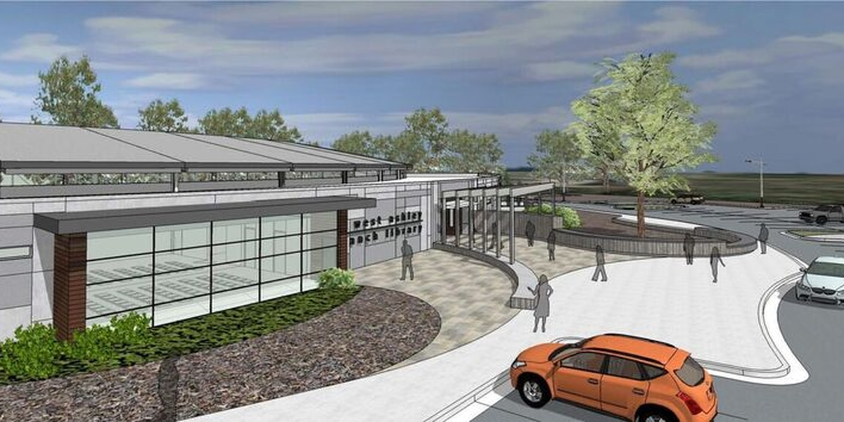 Charleston County breaks ground on new public library branch in W. Ashley