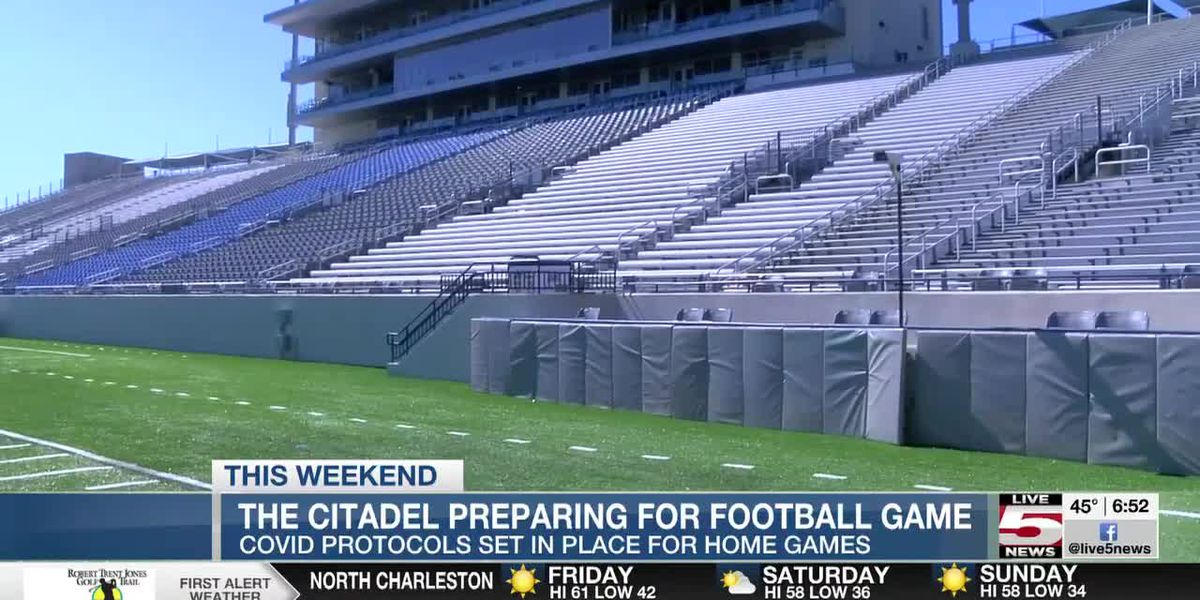 VIDEO: The Citadel prepares for first home football game of 2021
