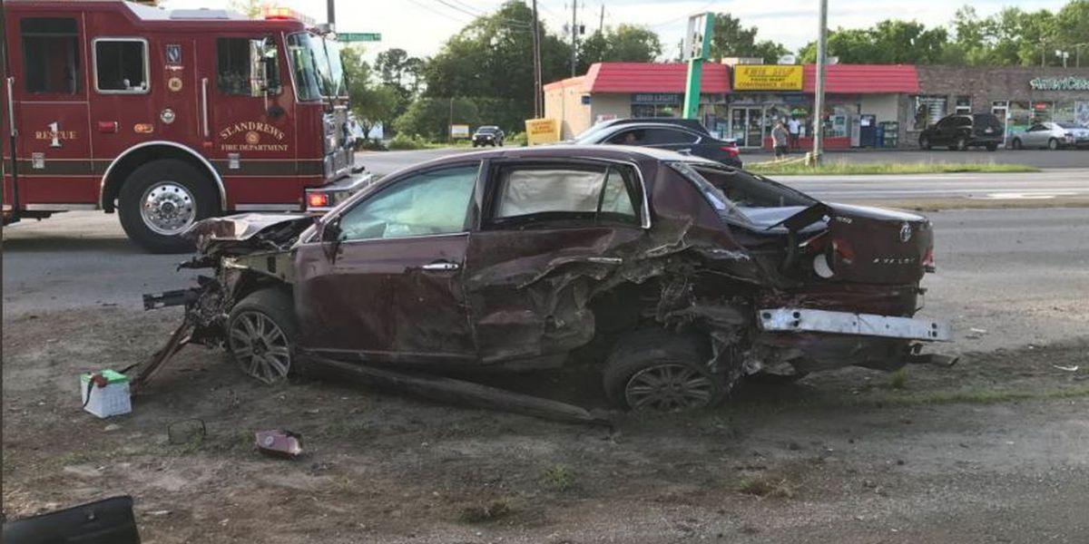 Driver arrested following West Ashley crash