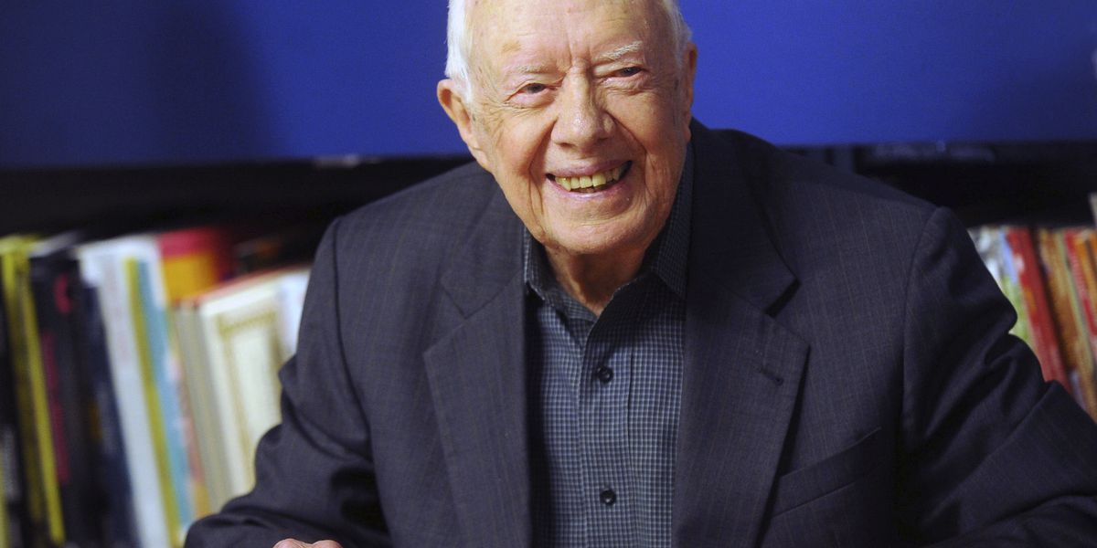 Jimmy Carter discharged from Georgia hospital