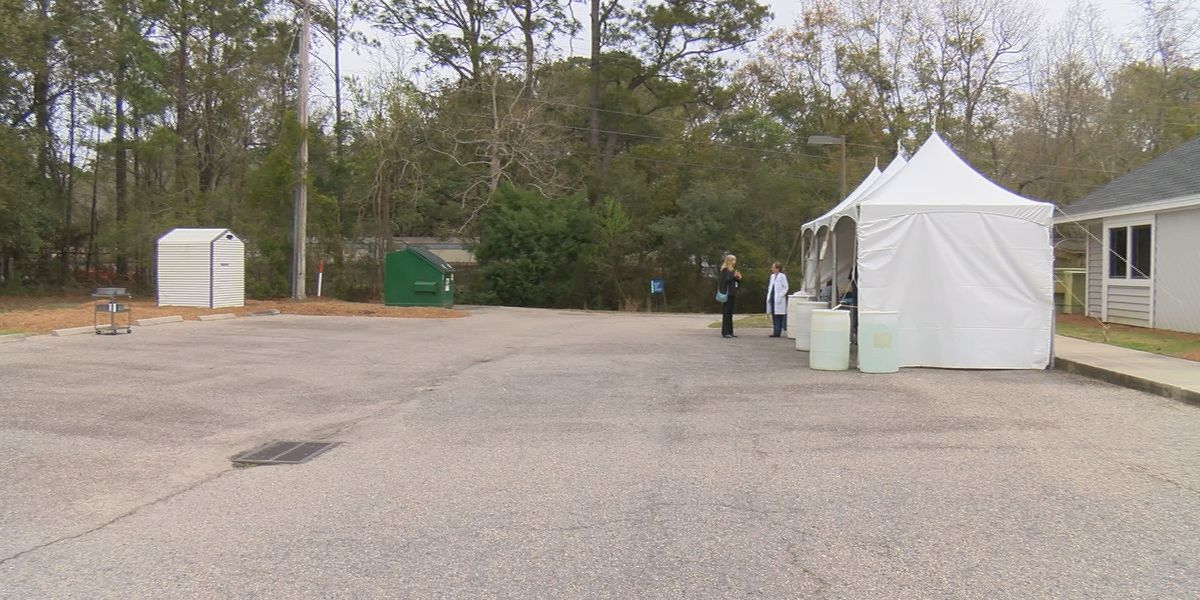 Tidelands Health opens COVID-19 testing tents, appointment required