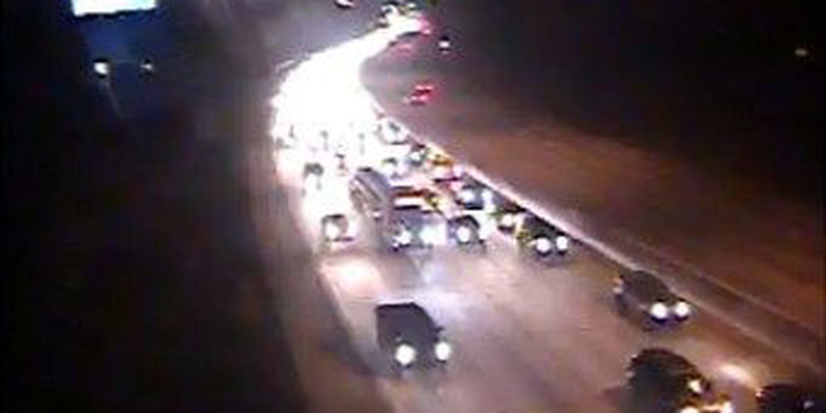 Crews clear WB I-26 accident at Aviation Avenue