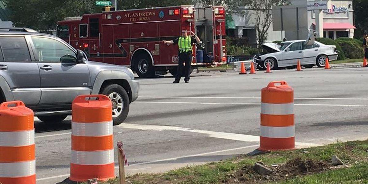 Crews clear Sam Rittenberg accident