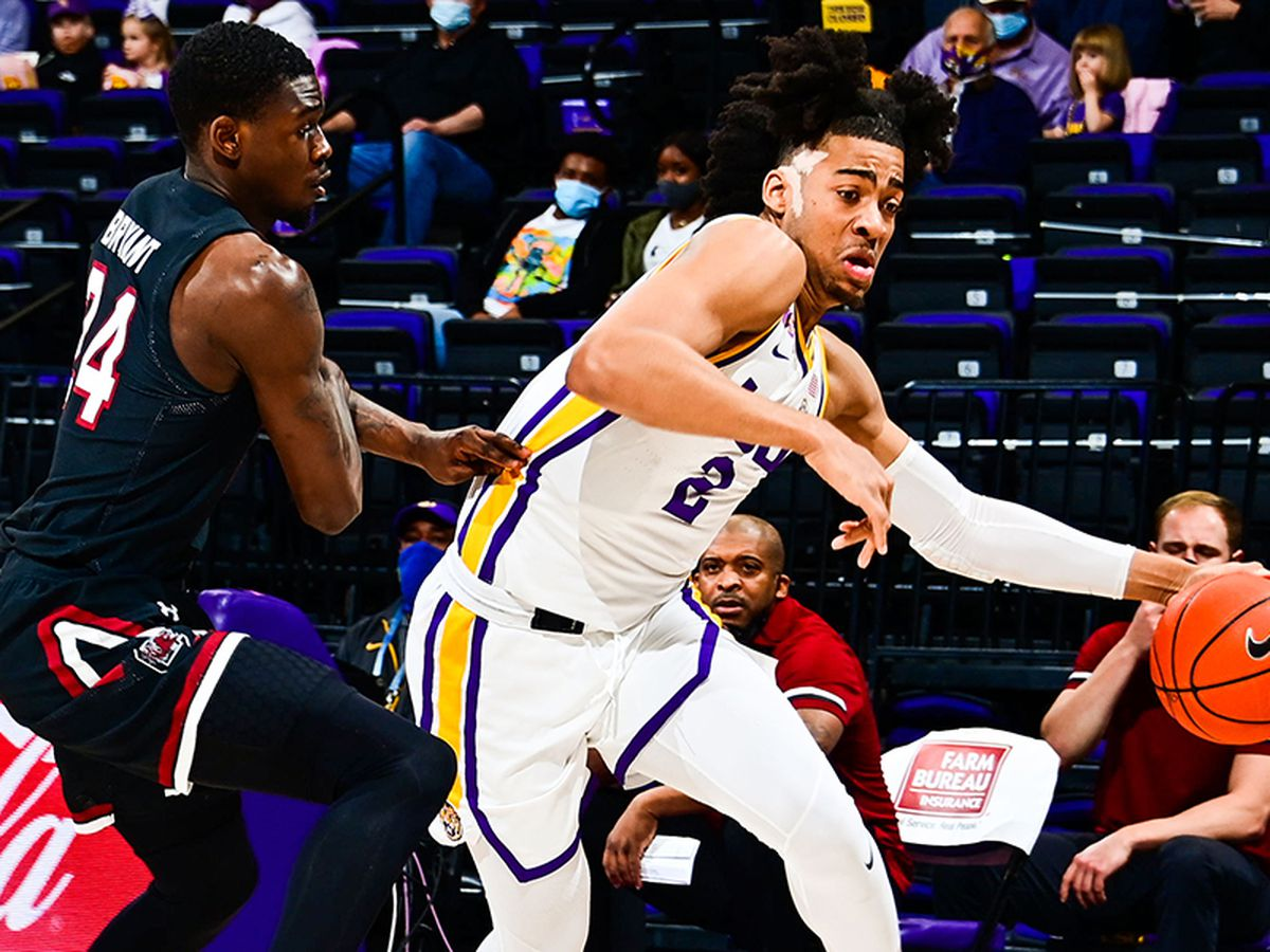 Thomas, Watford rally LSU past South Carolina 85-80