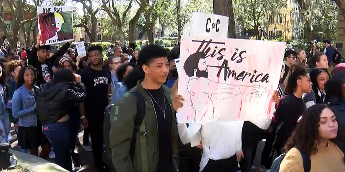 College of Charleston students rally for change after racist video surfaces