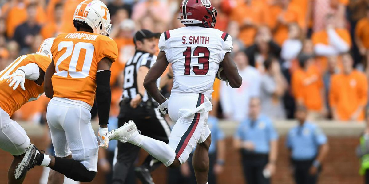 Tennessee beats South Carolina 41-21 without Maurer