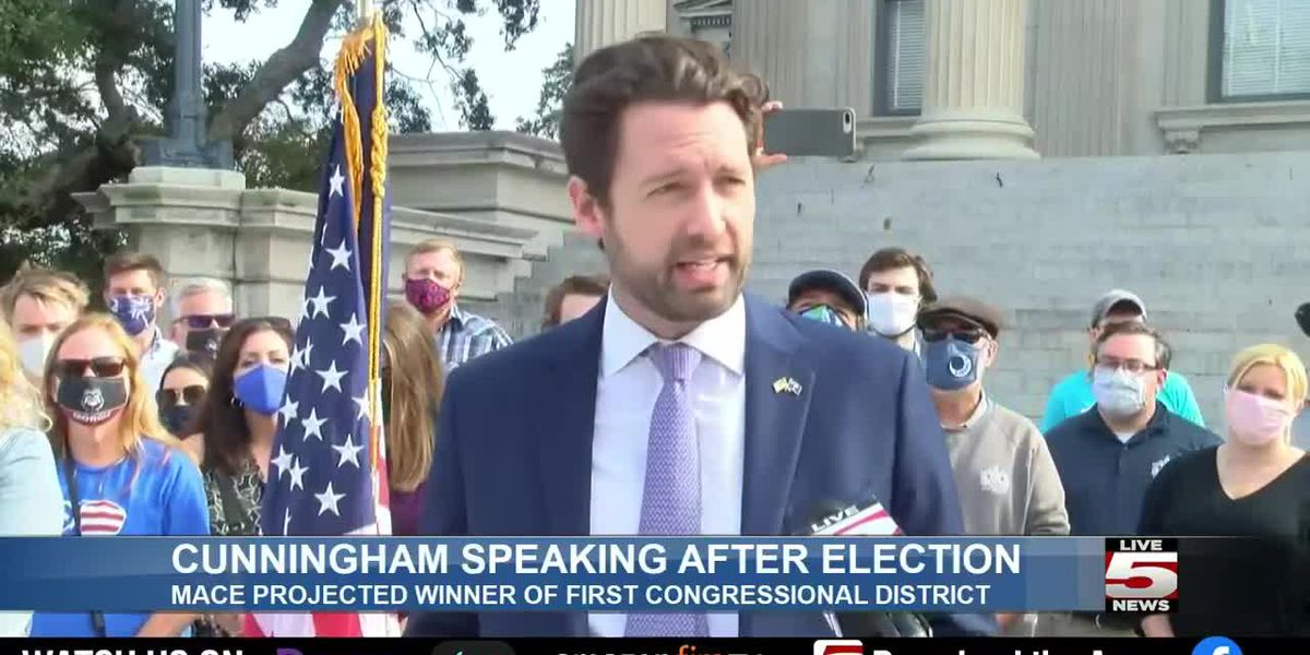 LIVE 5 ALERT DESK: Cunningham concedes loss to Mace in U.S. House race