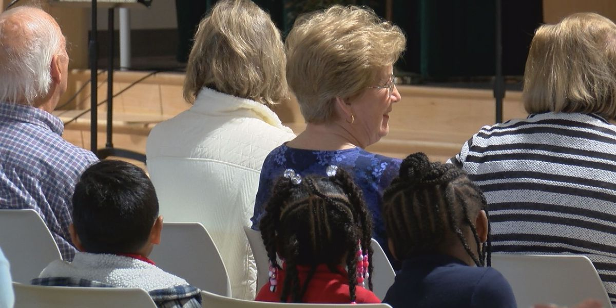 Surprise assembly held at Lowcountry elementary school