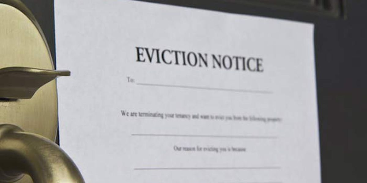 Evictions are rising in the Lowcountry and help is running dry