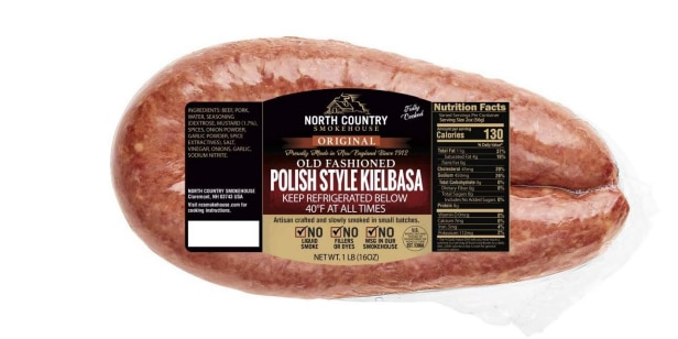 Sausage recalled due to possible metal contamination