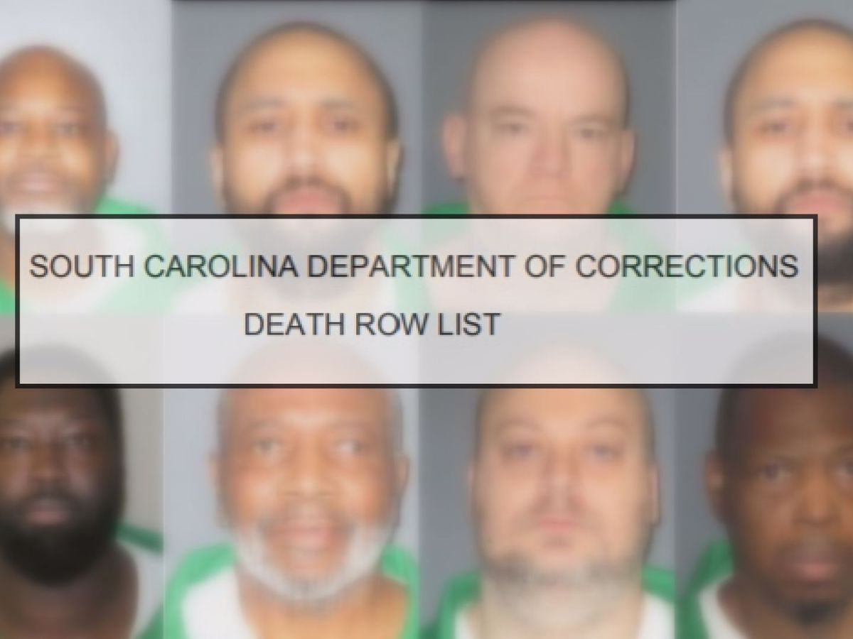 37 S C  inmates wait on death row as state works to find