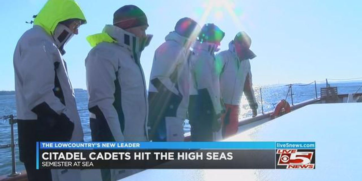 Citadel cadets prepare for semester at sea